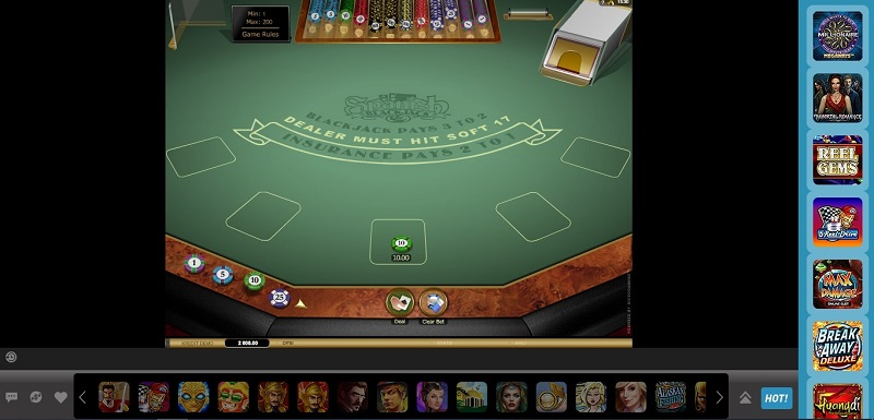 Blackjack Online Live Game Terkini